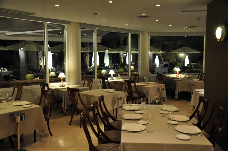 Acqua Sitges Salón íntimo y con ambiente agradable