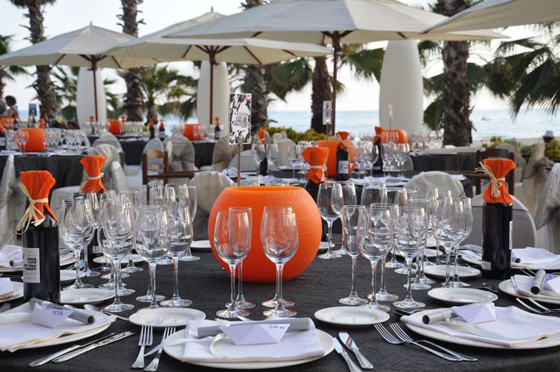 Restaurante Acqua Sitges Banquetes frente al mar