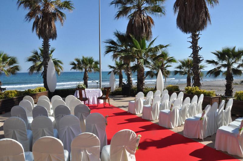 Acqua Sitges Terraza para bodas frente al mar