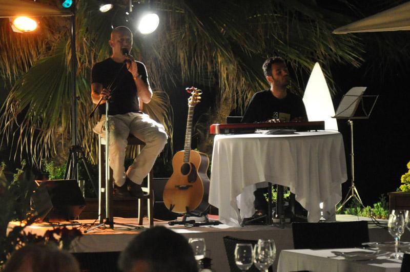 Restaurante Acqua Sitges Música en vivo en verano