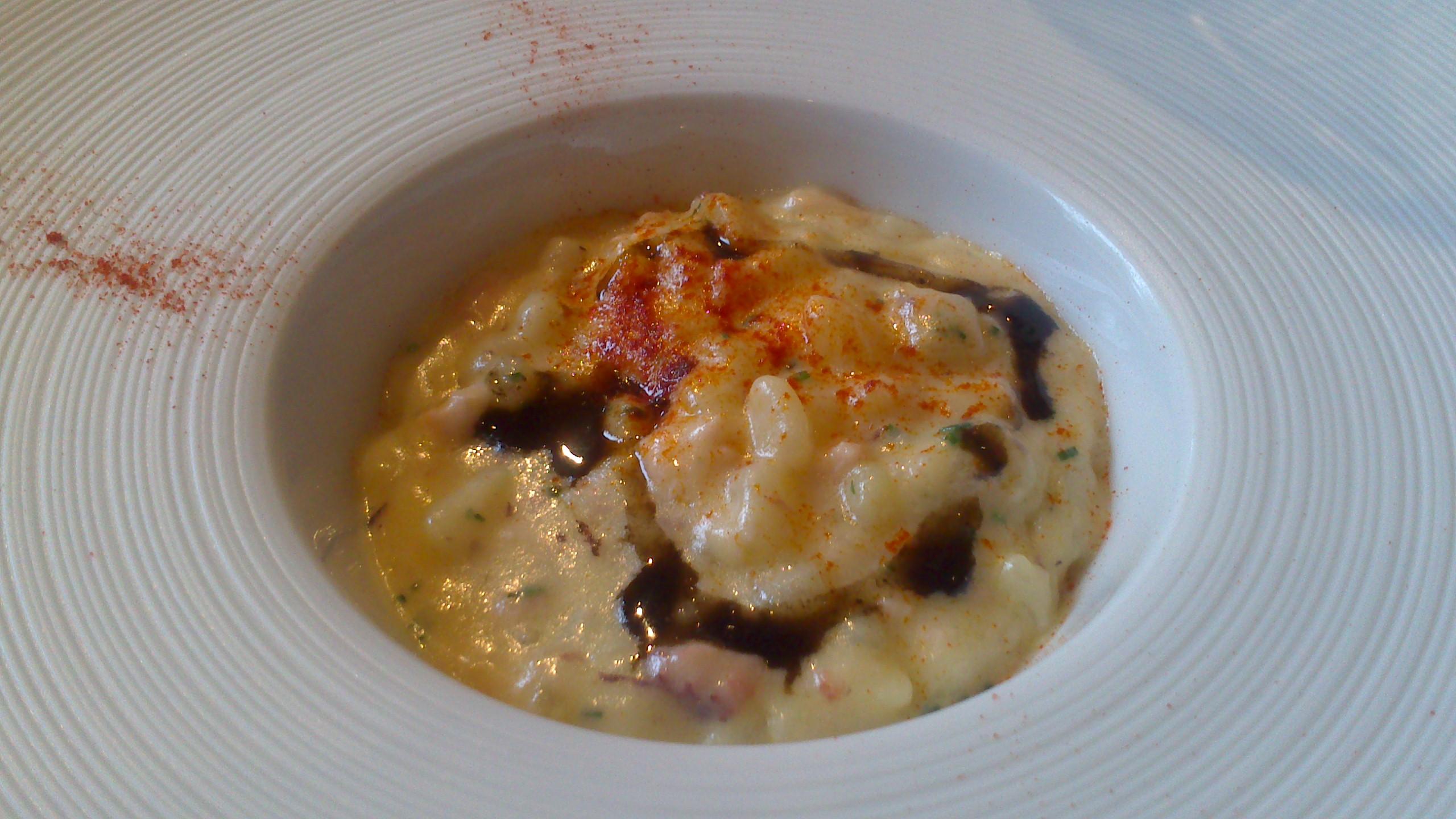 Restaurante Aizian falso rissotto