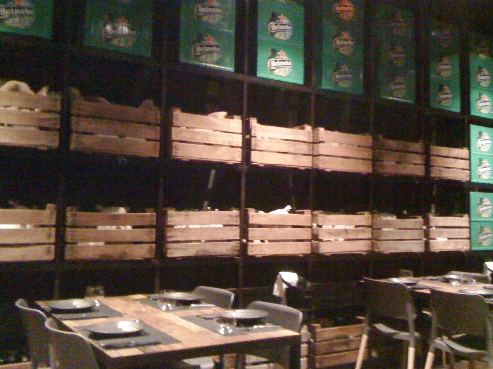Restaurante Canalla Bistro Detalle de la sala