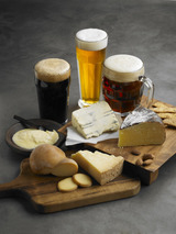 Tipos cerveza con quesos col