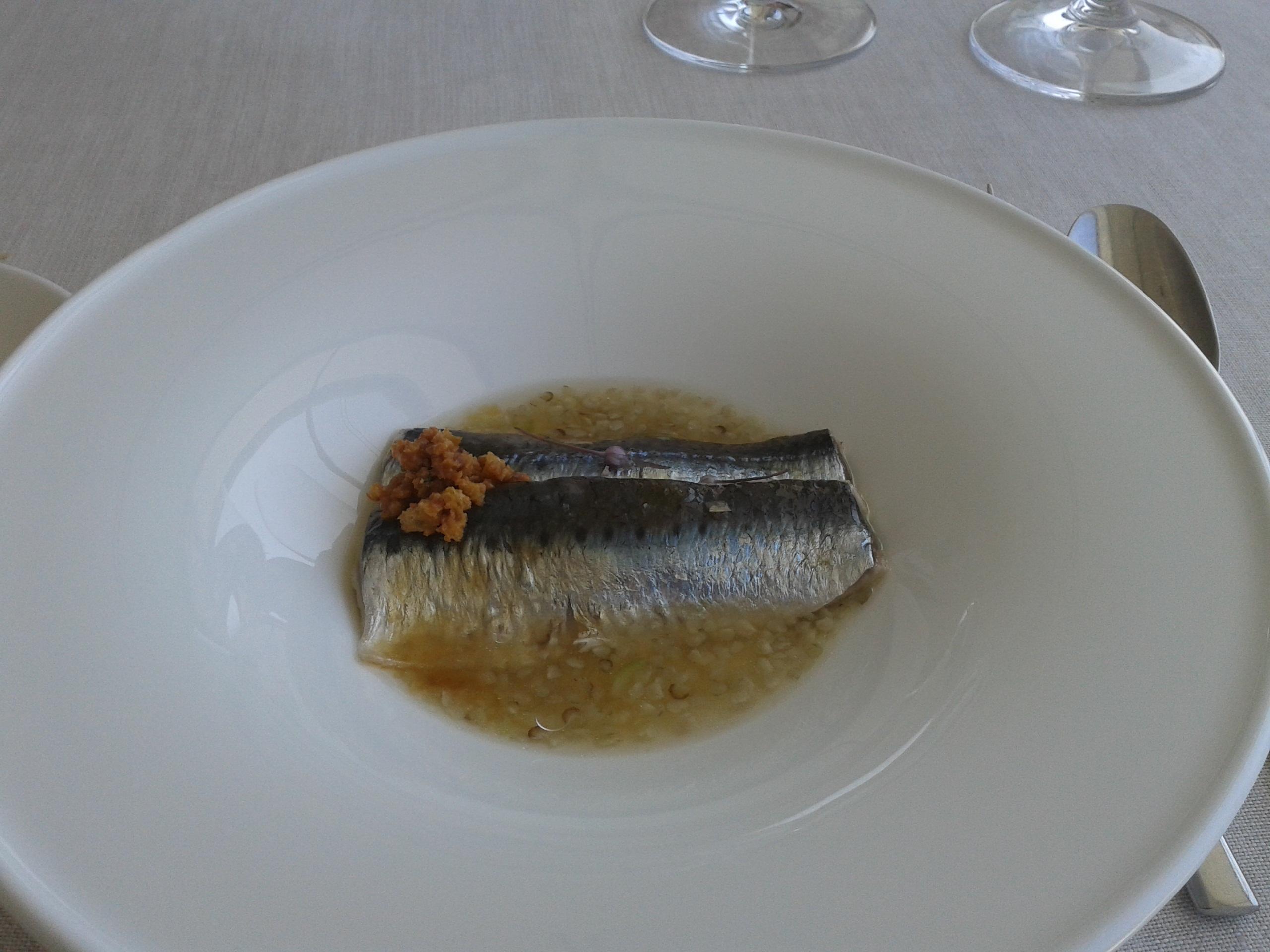 Restaurante en O Grove Sardina marinada