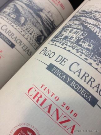 Vino Pago de Carraovejas Crianza