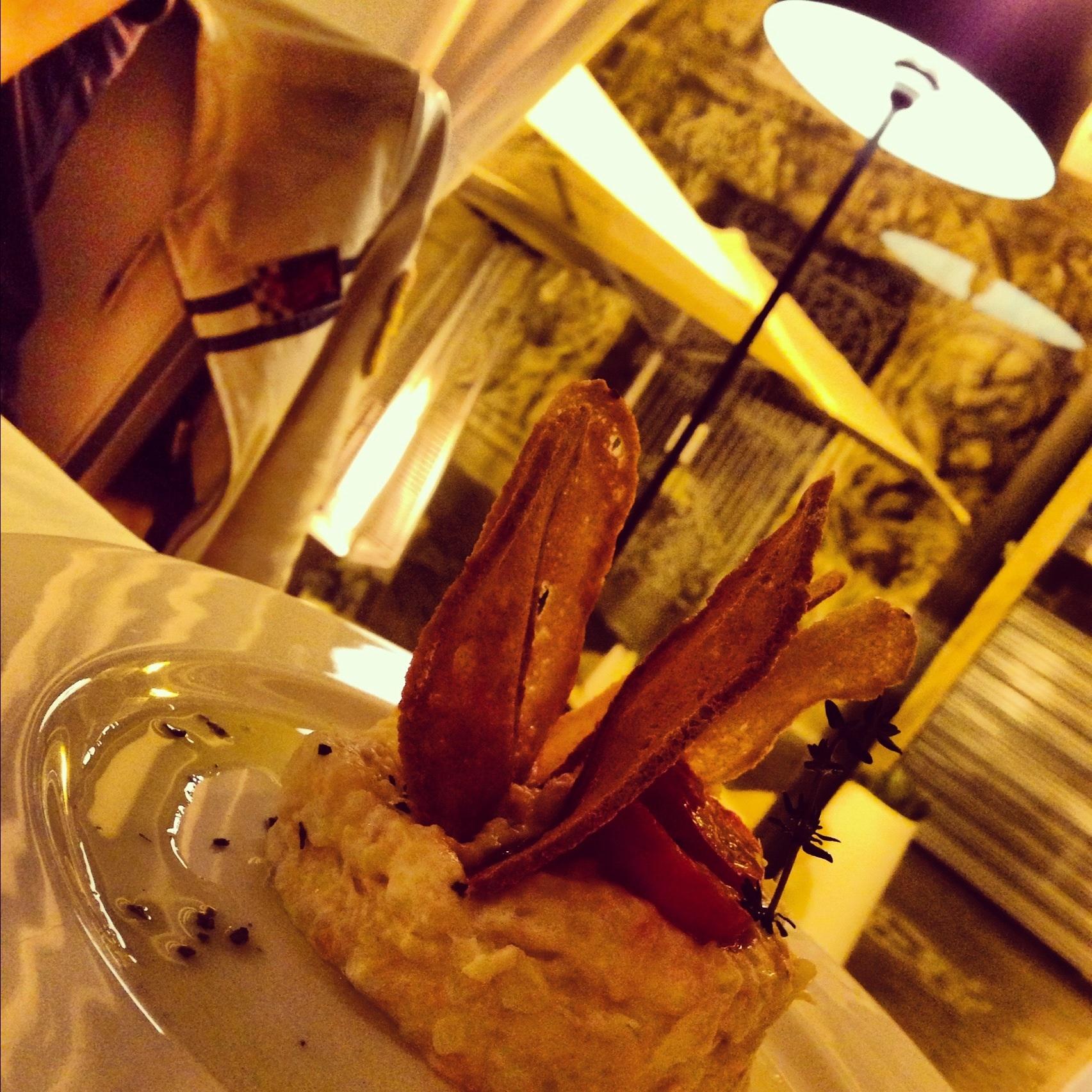 Restaurante Le Marquis (Valencia) Las vistas del Palacio desde la mesa
