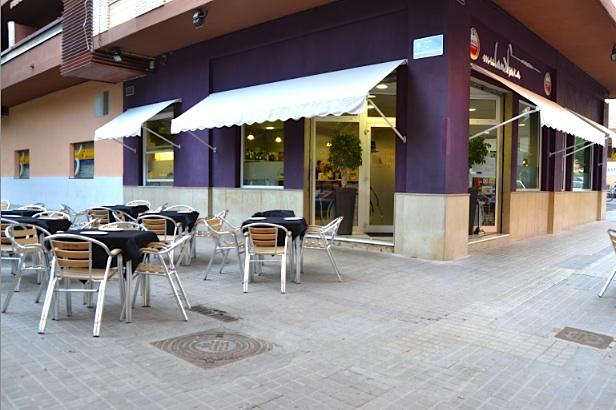 Restaurante mulandhara cerrado valencia for Fachada para restaurante