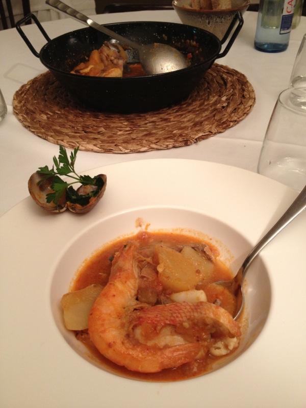 Restaurante en Valencia Suquet de escarapota