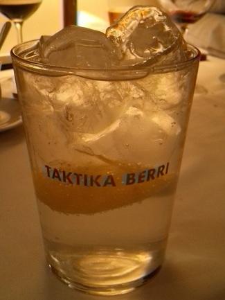 El Gin Tonic del Taktika nunca debe faltar