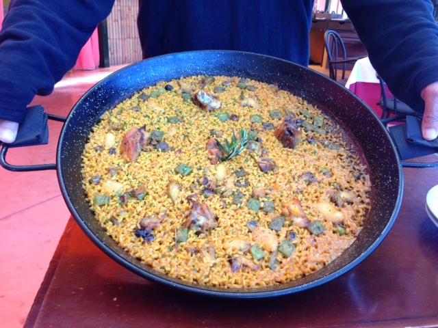 Restaurante en El Escorial Arroz de pollo y romero