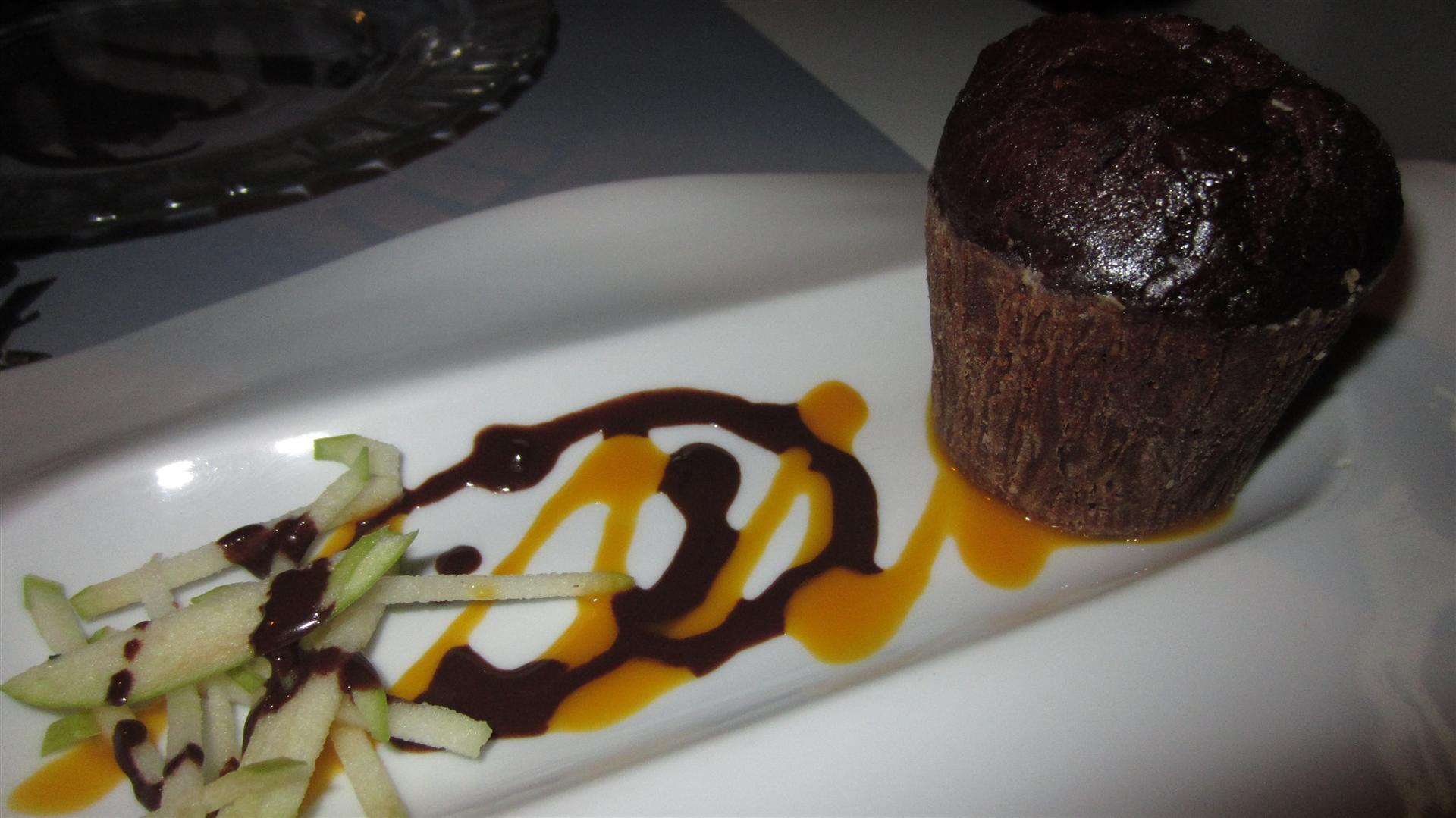 Mercatbar en Valencia Chocolate muffin/fondant/souffle (?)