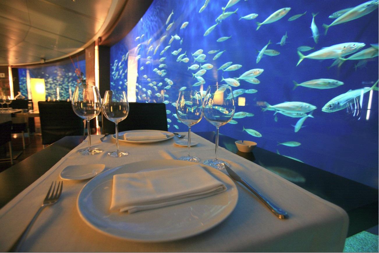 Restaurante Submarino Oceanogràfic Interior Rte. Submarino