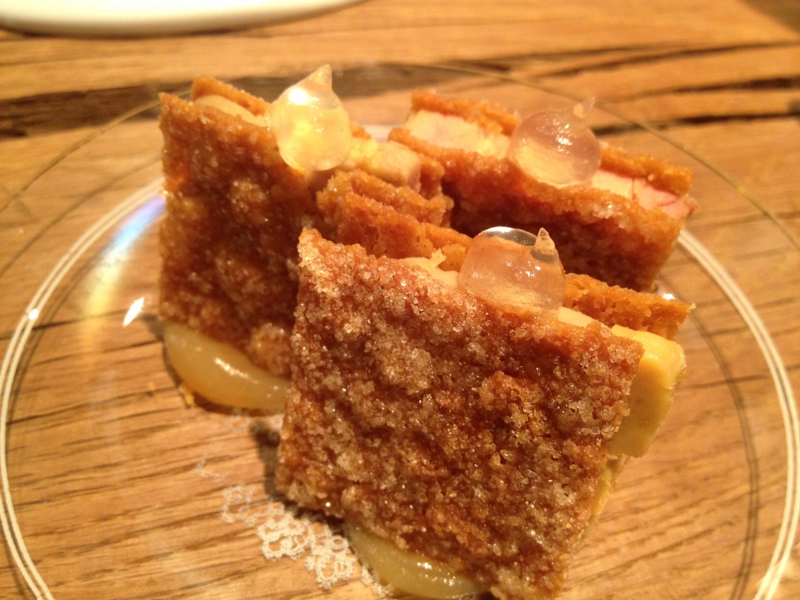 Restaurante en Valencia Pastisset de boniato, aguardiente y foie