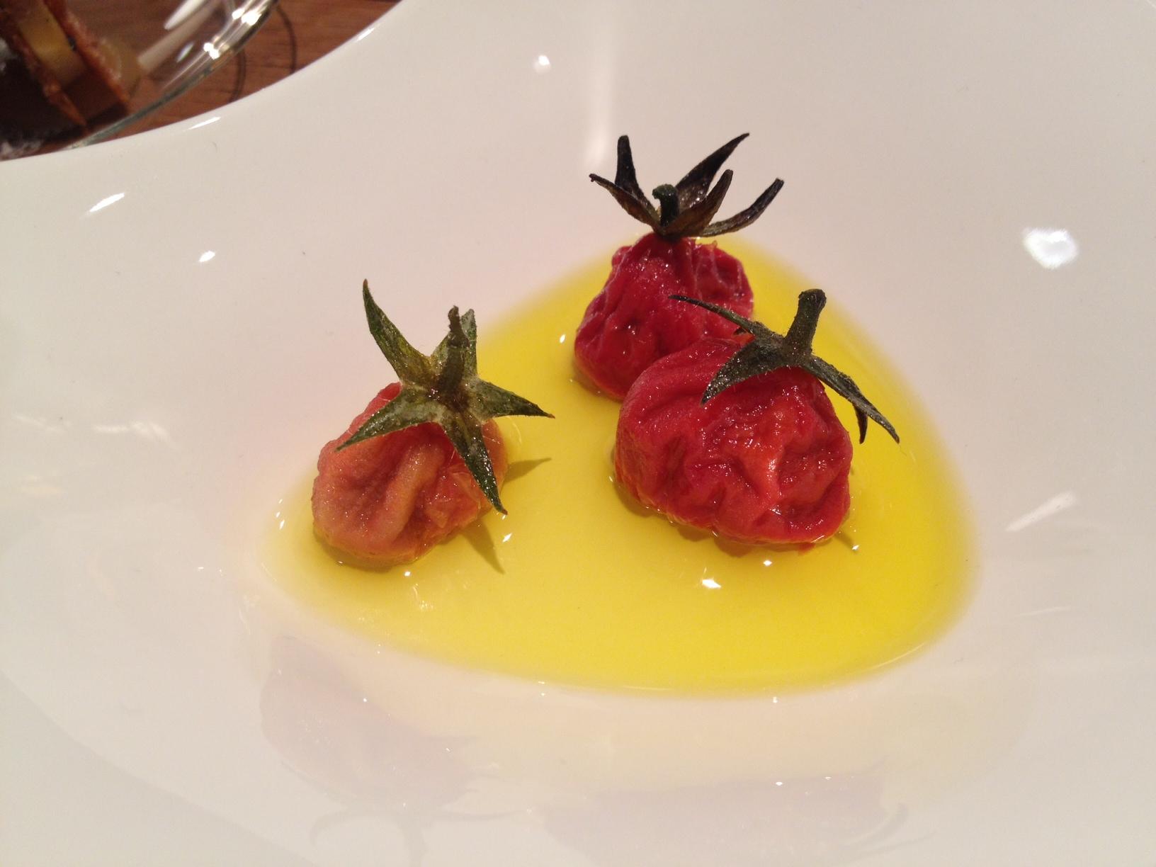 Ricard Camarena en Valencia Tomate con anchoa