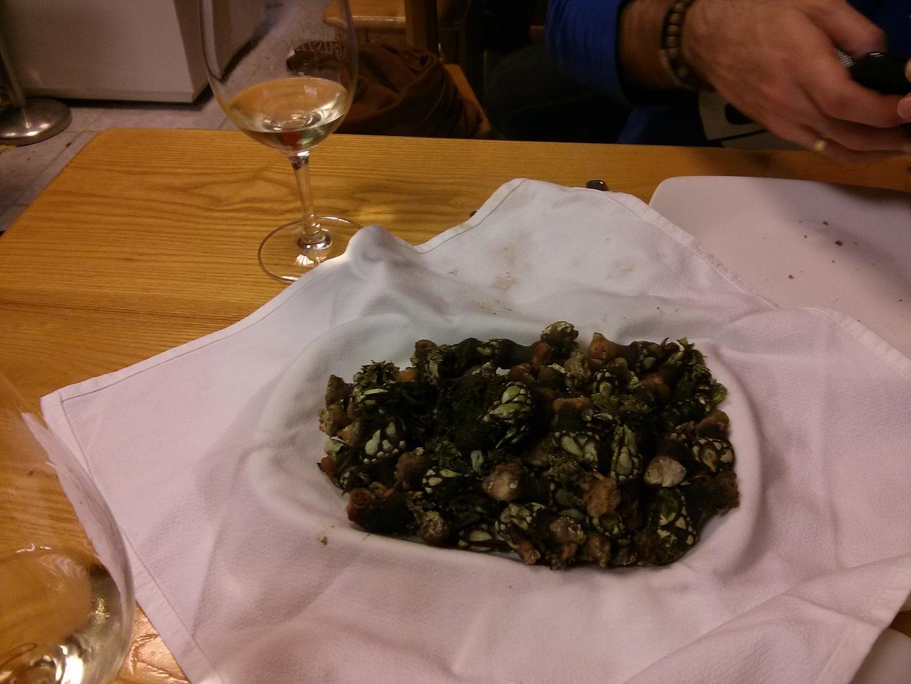 Restaurante en A Coruña Percebes