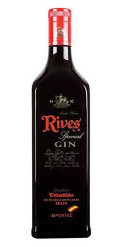 Gin Rives Premiun Tridestilada Especial