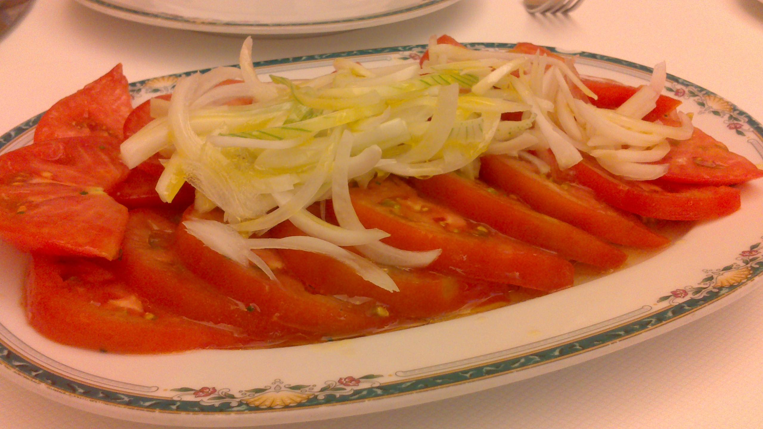 Restaurante en Bilbao Ensalada de tomate