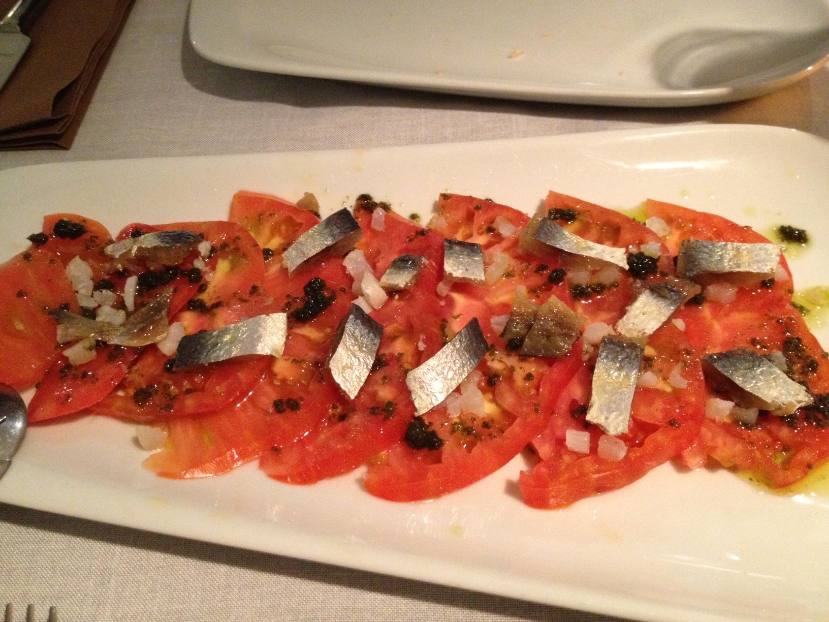Restaurante en Valencia Tomate y bacalao
