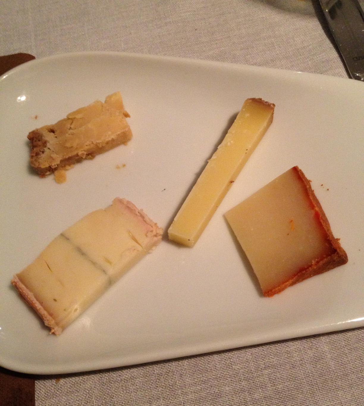 Restaurante La Cepa Vieja Selección de quesos