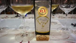 El Paraguas Atlántico 2011. Ribeiro 91.5 puntos Guía de Vinos Xtreme