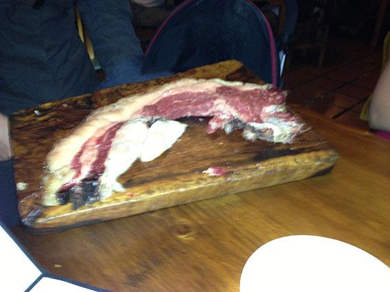 Restaurante Bodega Asador El Capricho Foto de la carne