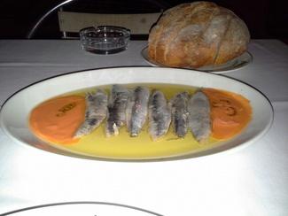 Sardinas marinadas