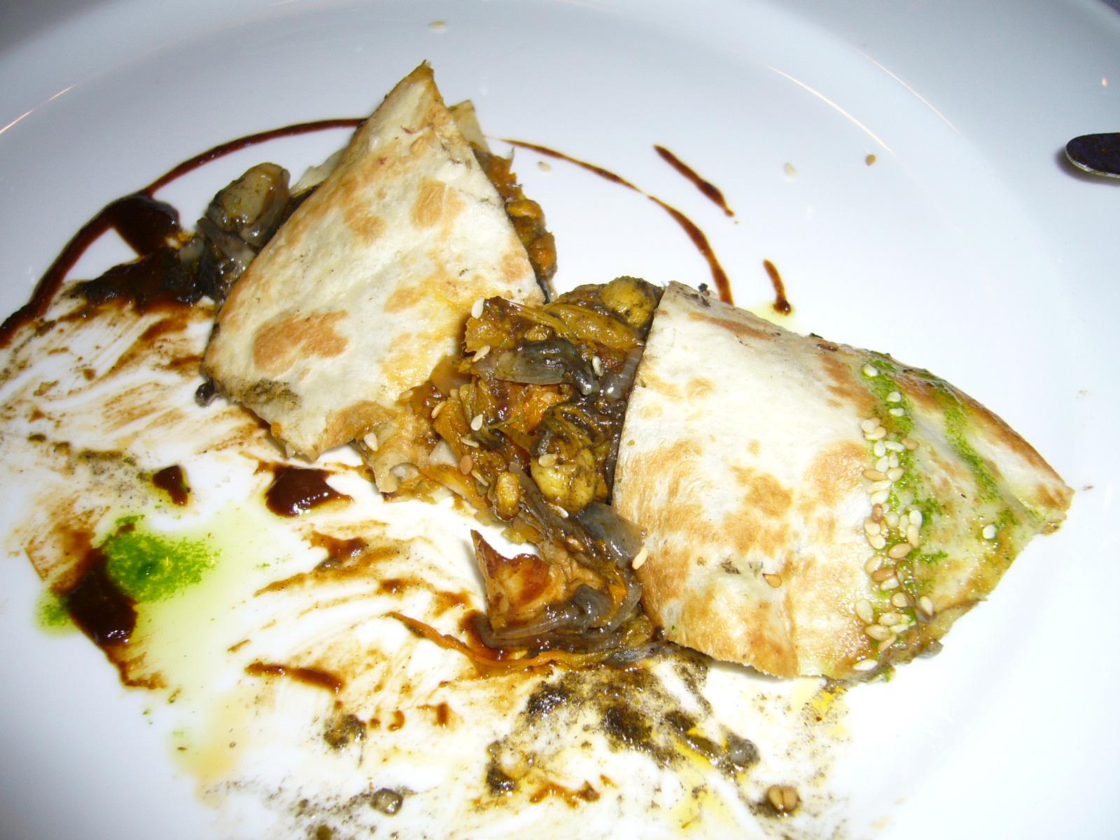 Viridiana en Madrid Quesadillas de cuitlacoche