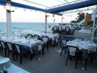 Restaurante El Chiringuito de Garraf en Garraf