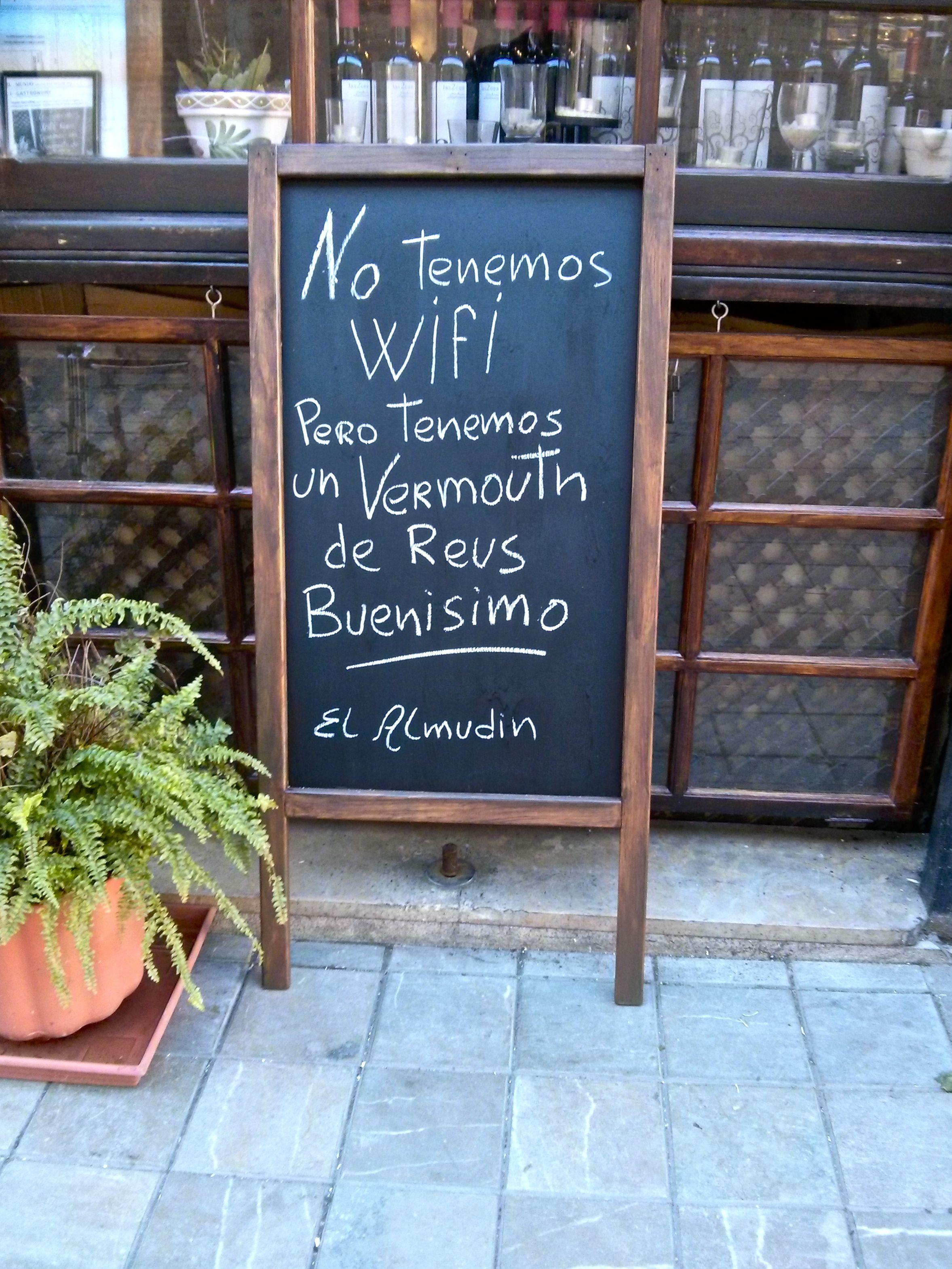 Restaurante bar almud n valencia - Pizarras de bar ...