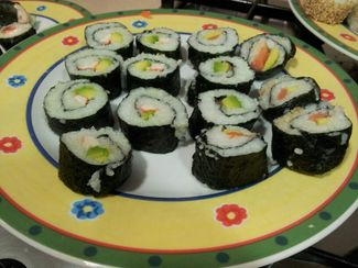 Elaboración sushi