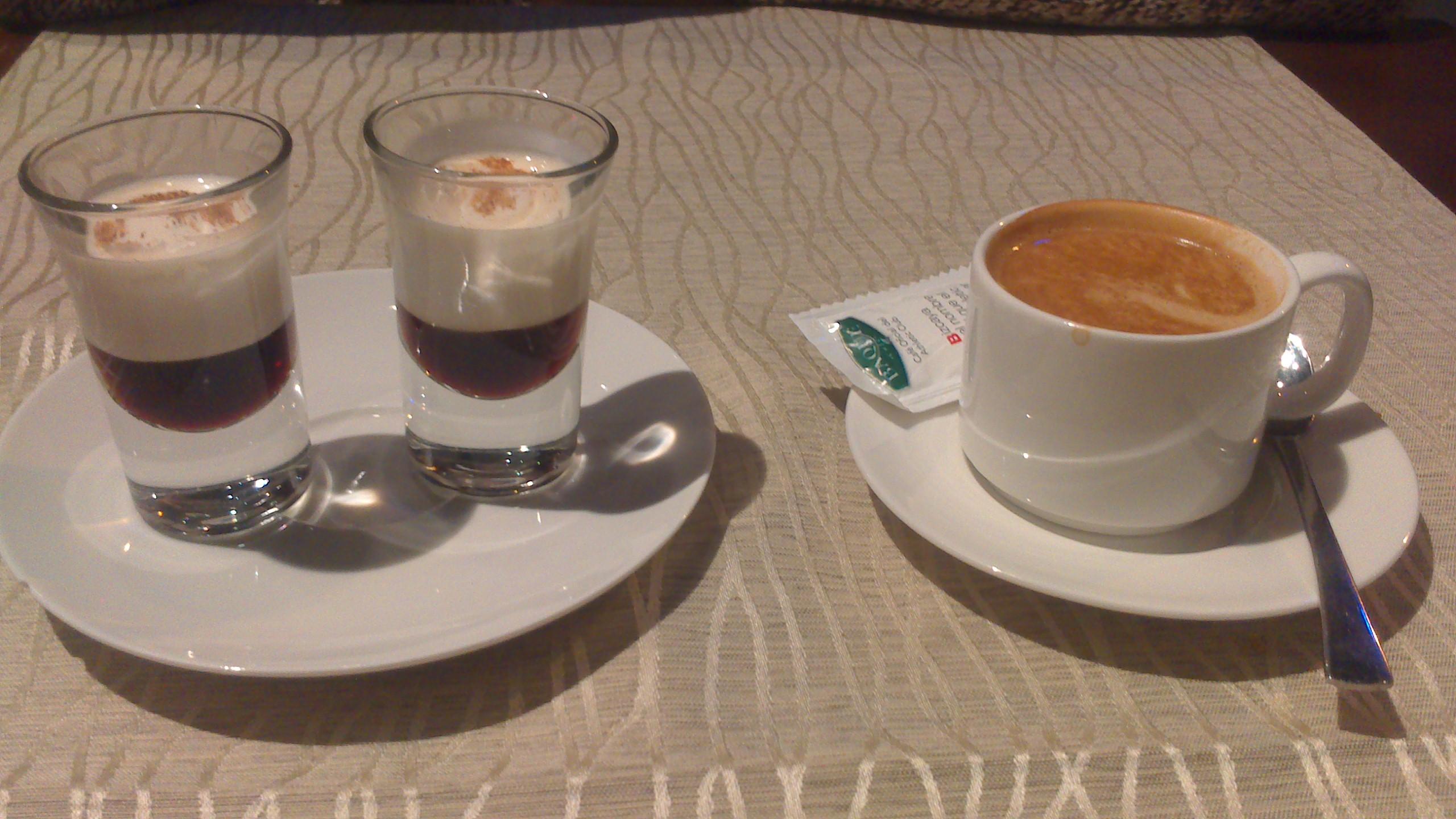 Restaurante Asia di Roma Chupitos de licor de café