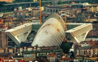 Palacio de congresos de Oviedo.
