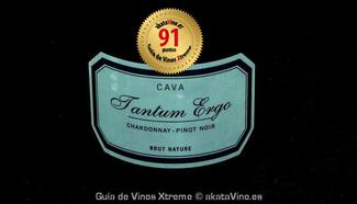 Tantum Ergo Chardonnay Pinot Noir 2010. 91 puntos Guía de Vinos Xtreme
