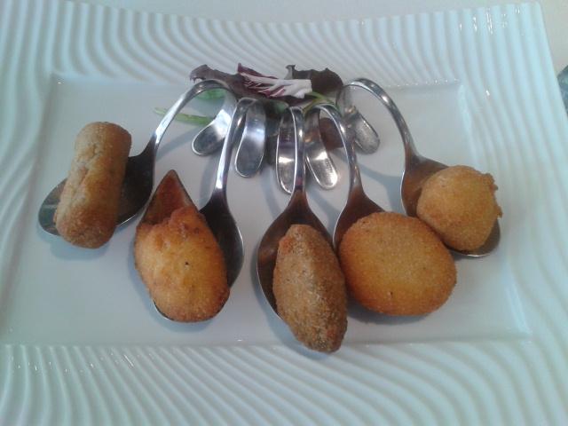 Restaurante MiGaea en Getxo Fritos variados de la casa