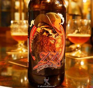 Cerveza ZZ+ 75 puntos en la Guía de Cervezas por el mundo 2014 by akataVino.