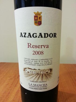 Azagador Reserva 2008