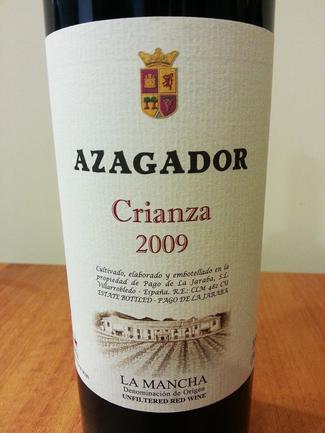 Azagador Crianza 2009