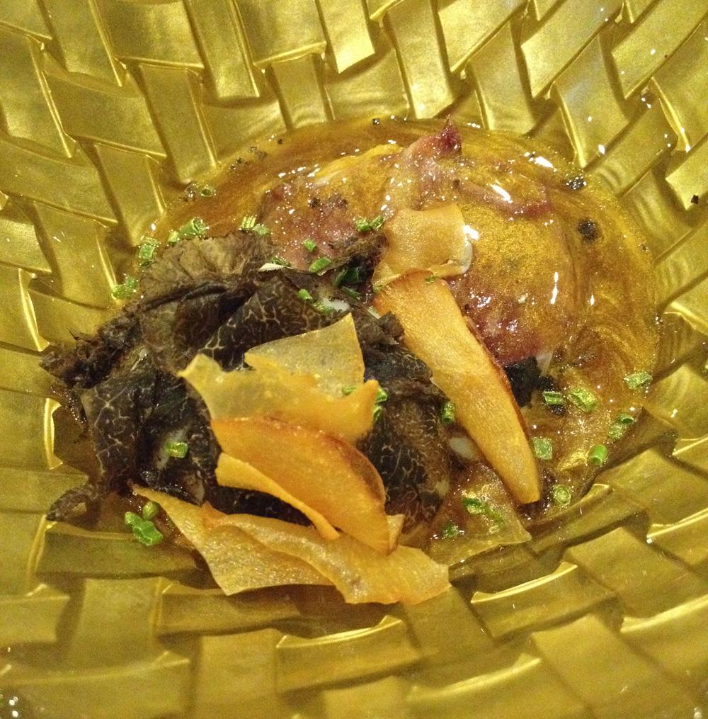 La Salita en Valencia Huevo a baja temperatura con polenta