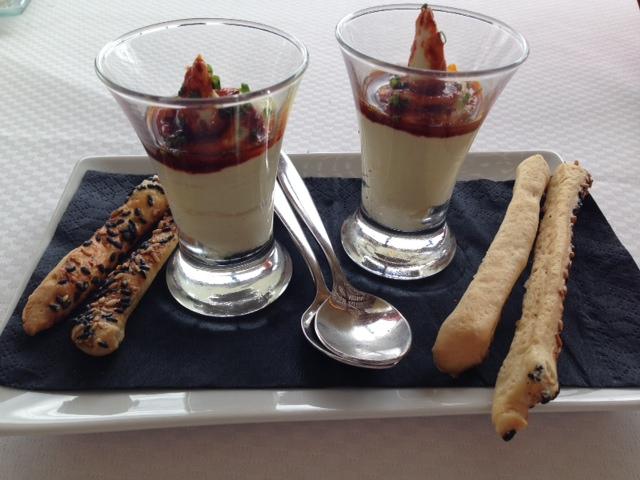 Restaurante El Naútico, La Orilla del Arroz de sepia, habitas y alcachofas