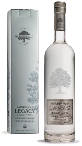 Bainbridge Legacy Organic Vodka