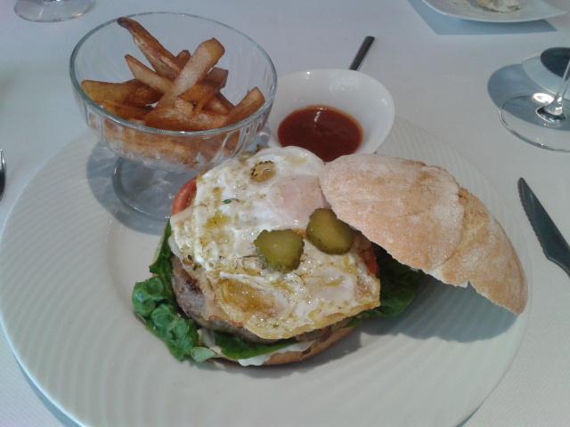 Restaurante MiGaea en Getxo Súper-hamburguesa