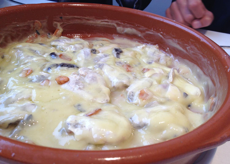 Askua en Valencia Cocochas de merluza al pil pil