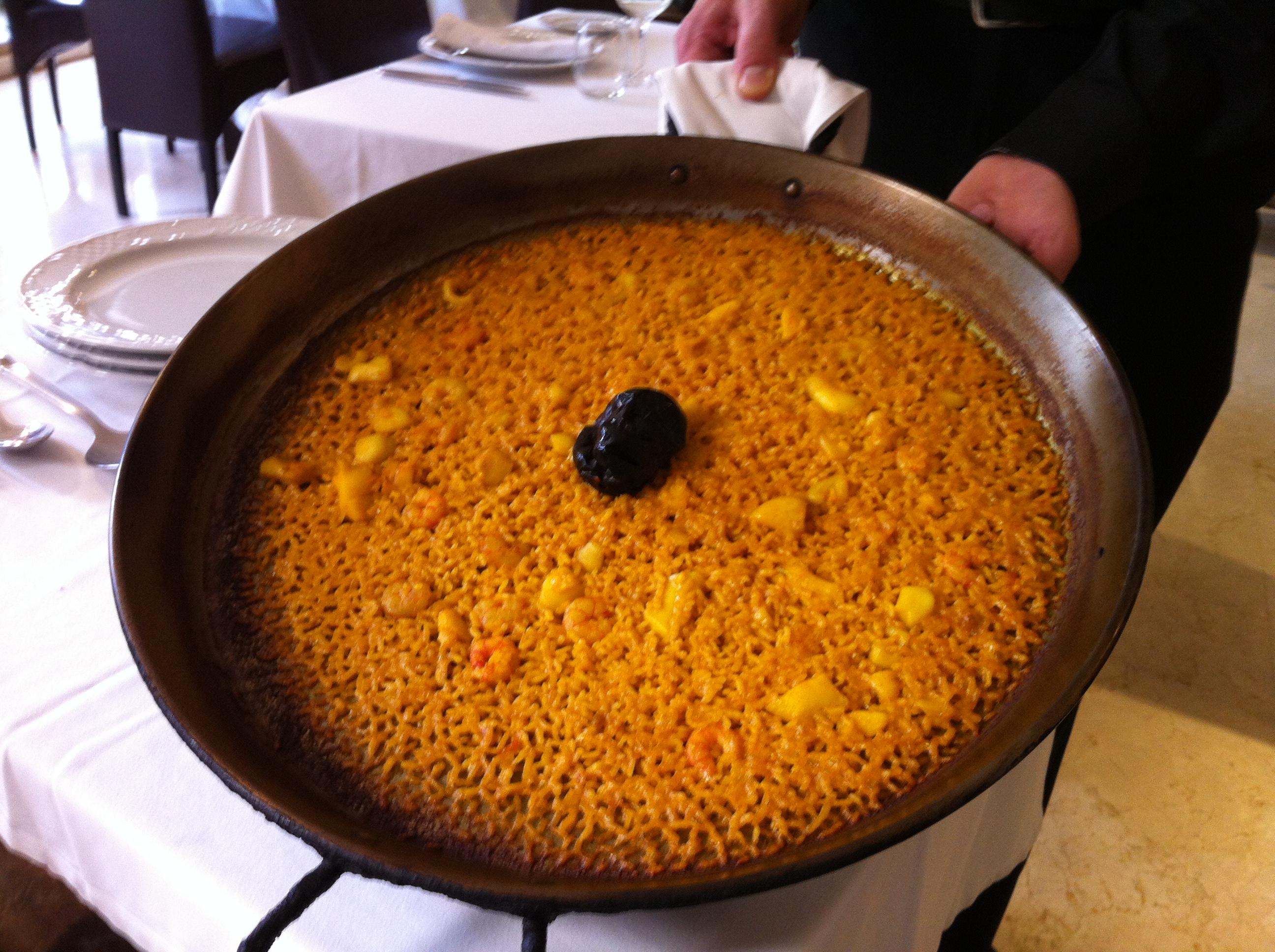 Restaurante Restaurante de Ana Arroz del senyoret