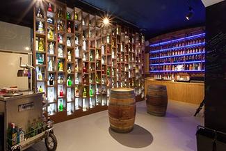 Interior de Cocktail Shop