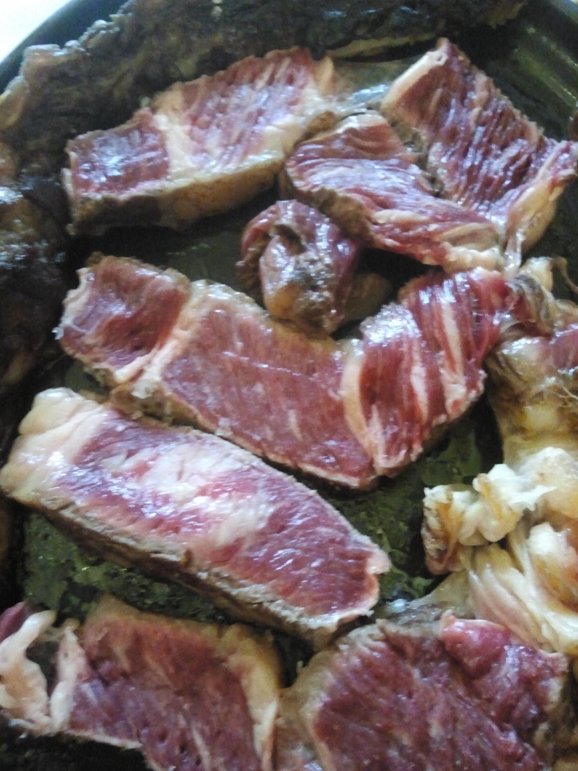 Restaurante Las Piscinas Corte de la carne