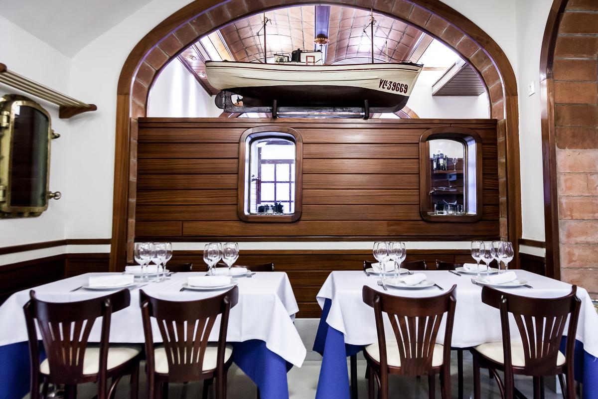 Restaurante en Barcelona Interior Restaurante Carballeira