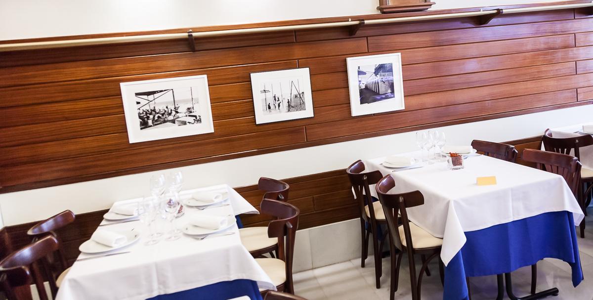 Restaurante Carballeira Barcelona Salón comedor