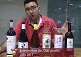 Videocatas vinos lote club verema julio verano 2014 col