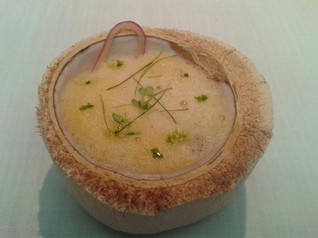 Restaurante DiverXO Lienzo 2 (Yodados). Acidulce. Marino y Agua de Mar