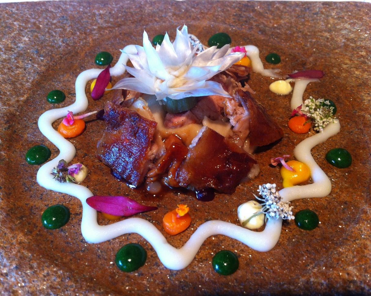 Restaurante El Celler de Can Roca Mandala Especiado de Flor de Alcachofa